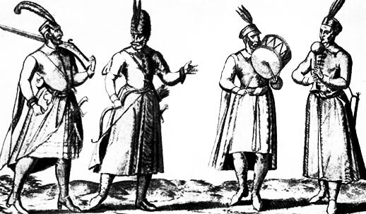 11. Udvari muzsikusok a XVI. században.