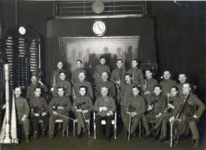 Fricsay és zenekara a Magyar Rádióban az 1930-as években.