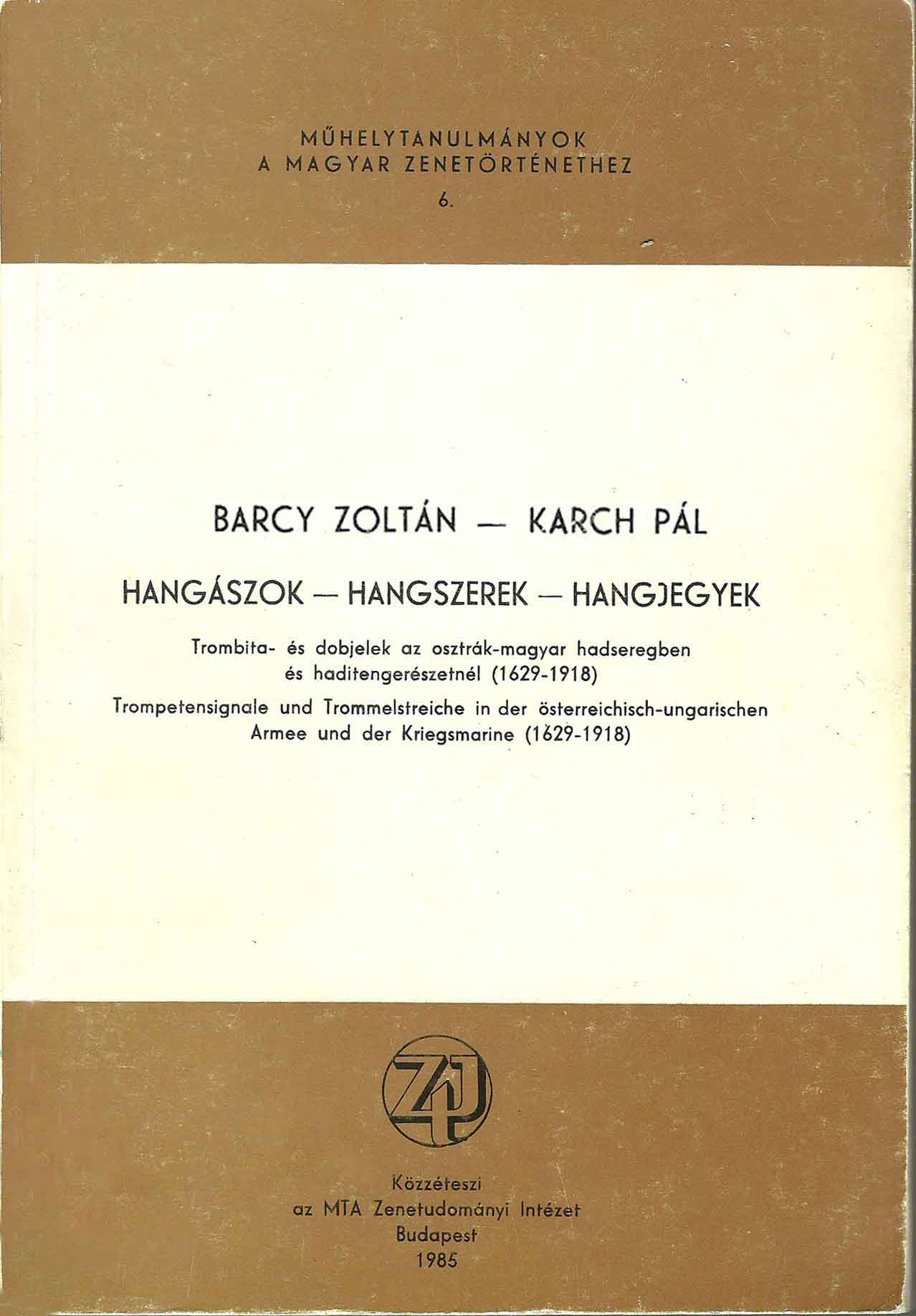 Kiadvány - Barczy Kardh
