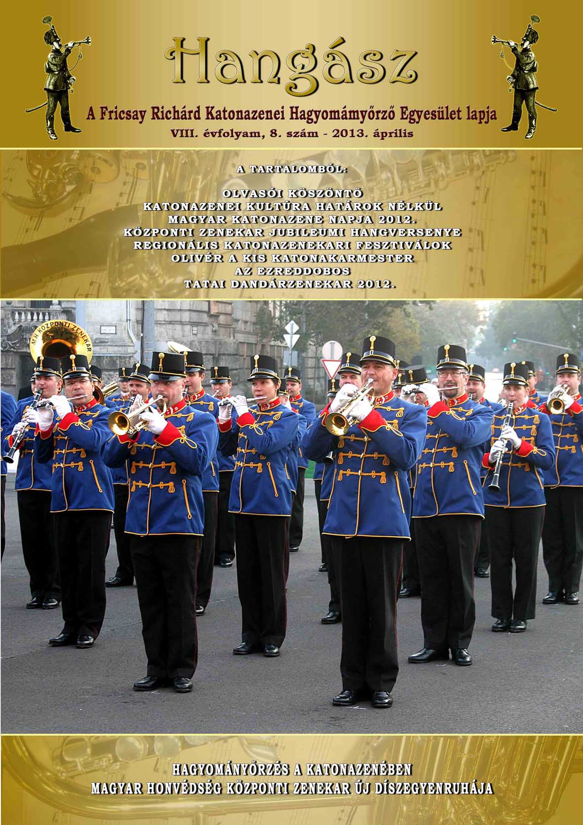 Hangász újság eleje2013